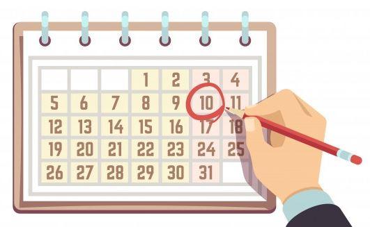 0023 - Modo de Exibicao Calendario do Project Desktop