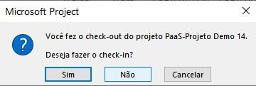 Como Fazer Check-out e Check-in de Projetos e Programas