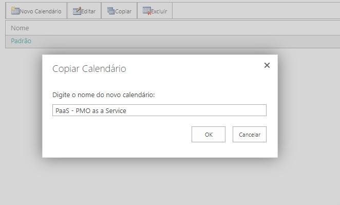 Como Criar Calendários da Empresa no Project Online